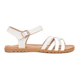 BLESS Klasyczne Białe Sandały