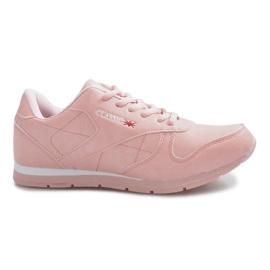 Różowe sportowe trampki Classic