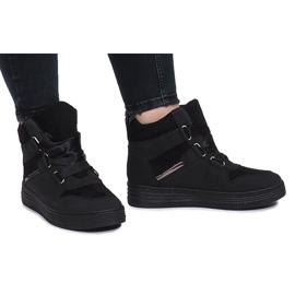 Czarne sneakersy Paule