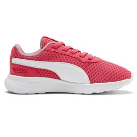 Czerwone Buty Puma St Activate Ac Ps Jr 369070 09 koralowe