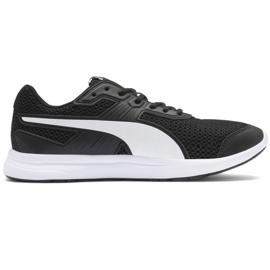 Czarne Buty Puma Escaper Core M 369985 01 czarno białe