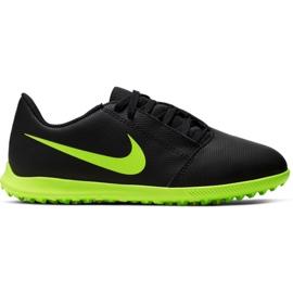 Buty piłkarskie Nike Phantom Venom Club Tf Jr AO0400 007 czarne