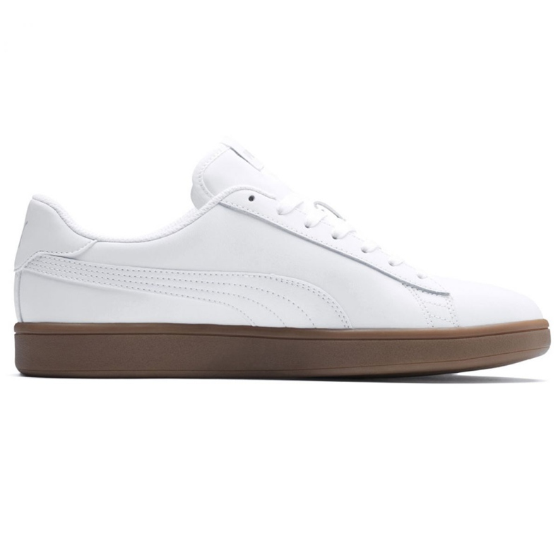 Buty Puma Smash v2 L M 365215 13 białe
