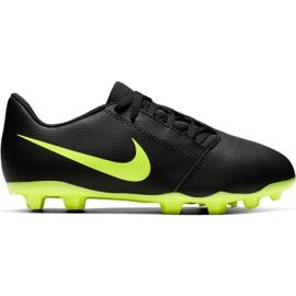 Buty piłkarskie Nike Phantom Venom Club Fg Jr AO0396 007 czarne