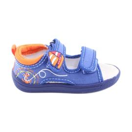 American Club niebieskie sandałki dziecięce TEN36
