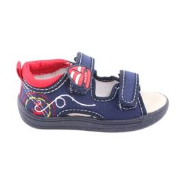 American Club granatowe sandałki dziecięce TEN36