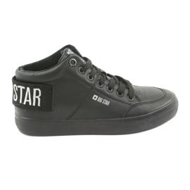 Wysokie Trampki czarne Big Star 274351