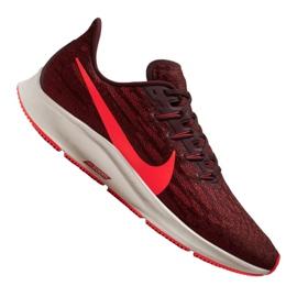 Czerwone Buty biegowe Nike Air Zoom Pegasus 36 M AQ2203-200