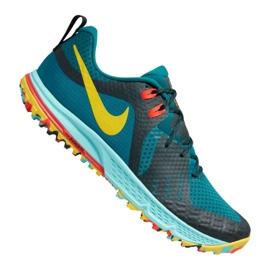 Niebieskie Buty biegowe Nike Air Zoom Wildhorse 5 M AQ2222-300