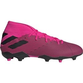 Buty piłkarskie adidas Nemeziz 19.3 Fg M F34388 różowe