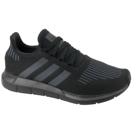 Czarne Buty adidas Swift Run Jr CM7919