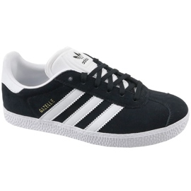 Czarne Buty adidas Gazelle Jr BB2502
