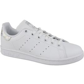 Białe Buty adidas Stan Smith Jr EE8483