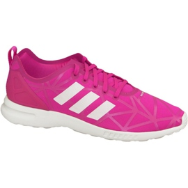 Różowe Buty adidas Zx Flux Adv Smooth W S79502