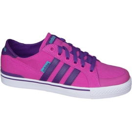Różowe Buty adidas Clementes K Jr F99281
