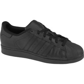 Czarne Buty adidas Superstar J Foundation Jr B25724