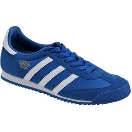 Niebieskie Buty adidas Dragon Og Jr BB2486