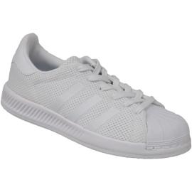 Białe Buty adidas Superstar Bounce W BY1589