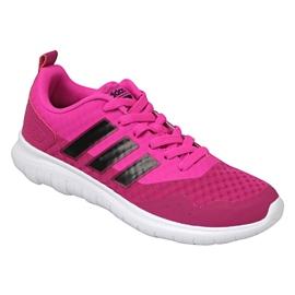 Różowe Buty adidas Cloudfoam Lite Flex W AW4203