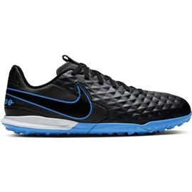 Buty piłkarskie Nike Tiempo Legend 8 Academy Tf Jr AT5736 004 czarne