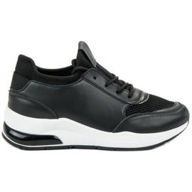 Ideal Shoes czarne Damskie Buty Sportowe
