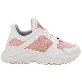 GUAPISSIMA białe Modne Sneakersy