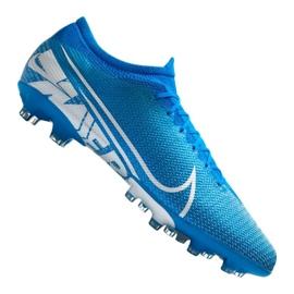 Buty piłkarskie Nike Vapor 13 Pro AG-Pro M AT7900-414 niebieski niebieskie