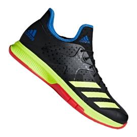 Buty do piłki ręcznej adidas Counterblast Bounce M BD7408 czarne czarny, żółty