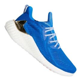Buty biegowe adidas Alphaboost M G54130 niebieskie