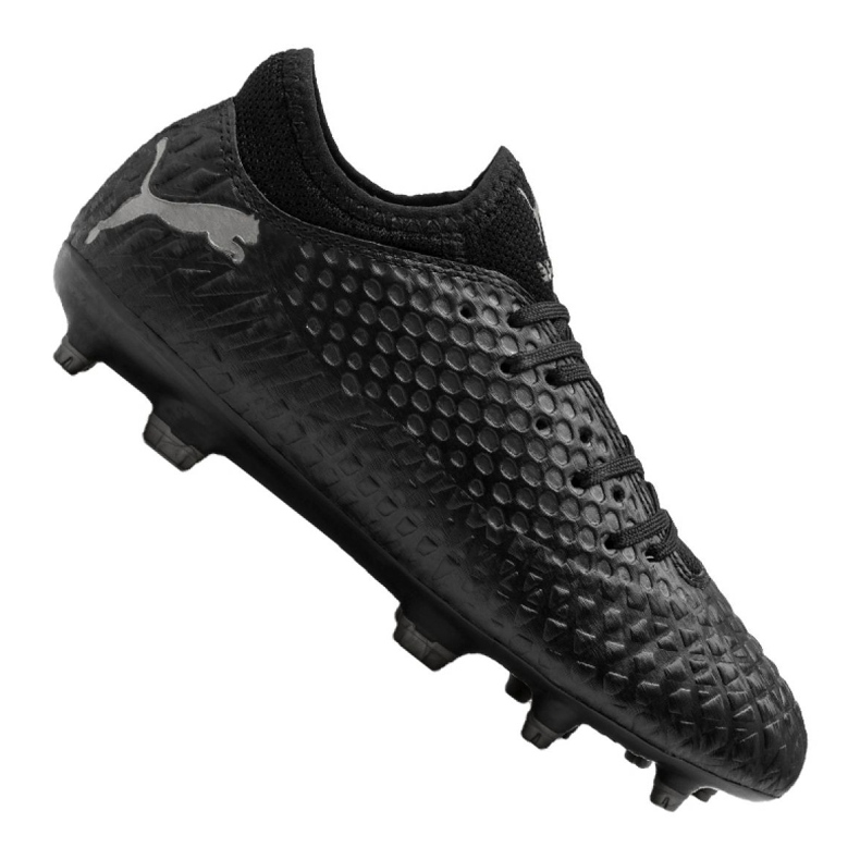 Buty piłkarskie Puma Future 4.4 Fg / Ag Jr 105696-02 czarny czarne