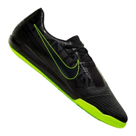 Buty halowe Nike Phantom Vnm Academy Ic M AO0570-007 czarny czarne