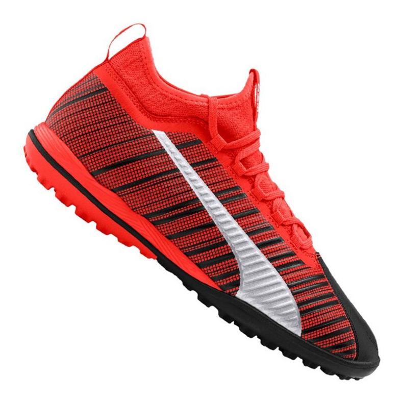 Buty piłkarskie Puma One 5.3 Tt M 105648-01 czerwone czarny