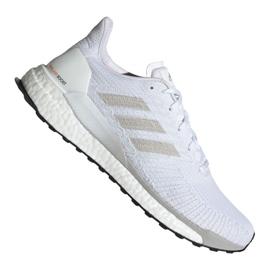 Białe Buty biegowe adidas Solar Boost 19 M G28058