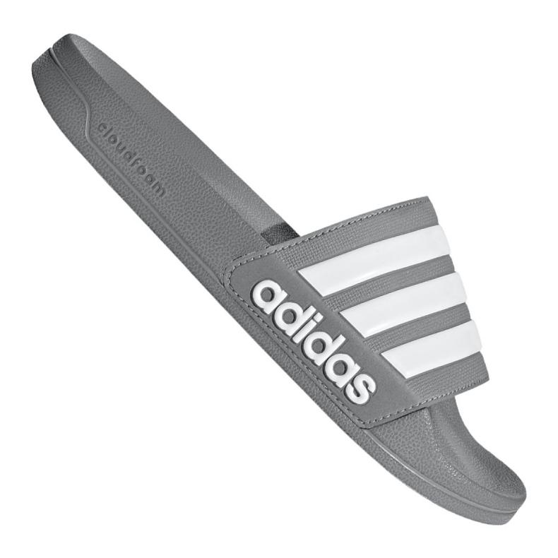 Klapki adidas Adilette Shower M B42212 szare