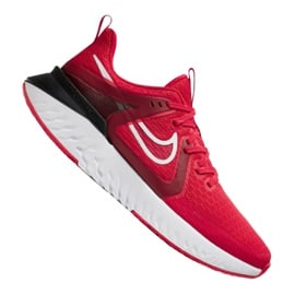 Czerwone Buty biegowe Nike Legend React 2 M AT1368-600