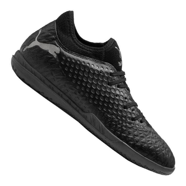 Buty halowe Puma Future 4.4 It M 105691-02 czarne czarny