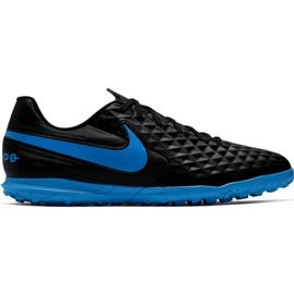 Buty piłkarskie Tiempo Nike Legend 8 Club Tf M AT6109 004 czarne