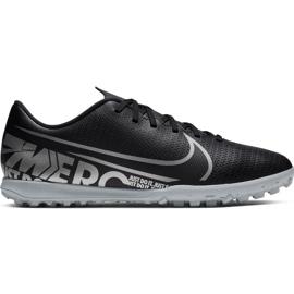 Buty piłkarskie Nike Mercurial Vapor 13 Club Tf M AT7999 001 czarne