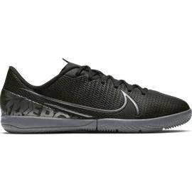 Buty piłkarskie Nike Mercurial Vapor 13 Academy Ic Jr AT8137 001 czarne