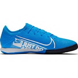 Buty piłkarskie Nike Mercurial Vapor 13 Pro Ic M AT8001 414 niebieskie