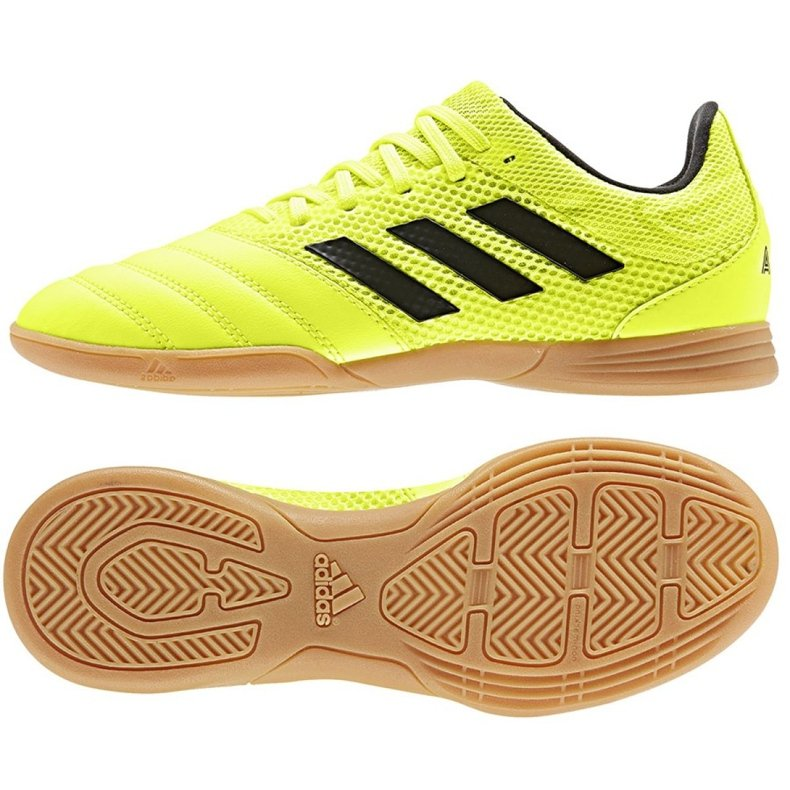 Buty adidas Copa 19.3 In Sala Jr EF0561 żółte