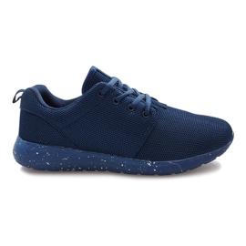 Granatowe obuwie sportowe Cosmo