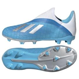 Buty piłkarskie adidas X 19.3 Ll Fg Jr EF9114