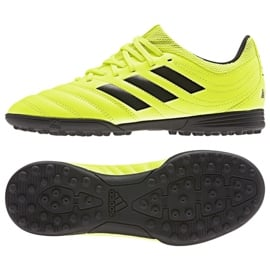 Buty piłkarskie adidas Copa 19.3 Tf Jr F35463 żółty żółte