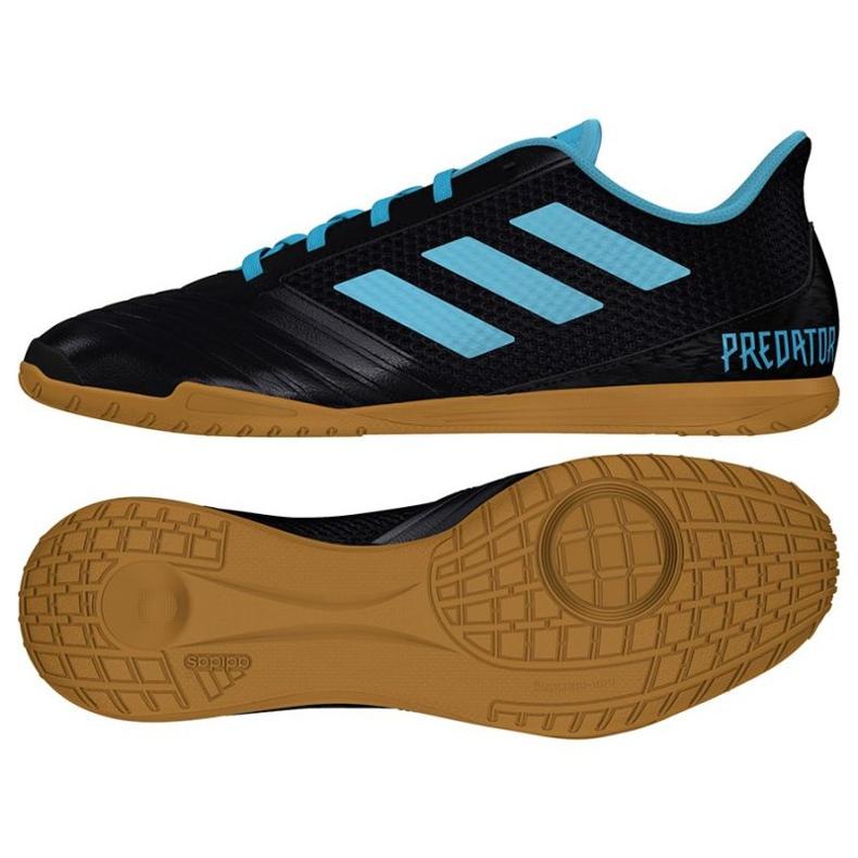 Buty halowe adidas Predator 19.4 In Sala M F35631 czarne czarne