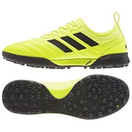 Buty piłkarskie adidas Copa 19.1 Tf M F35511 żółty żółte