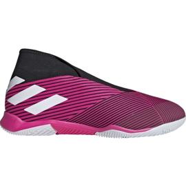 Buty piłkarskie adidas Nemeziz 19.3 In M EF0393 różowe różowy