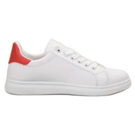 Jumex białe Modne Buty Sportowe