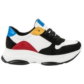 SDS wielokolorowe Lekkie Sneakersy