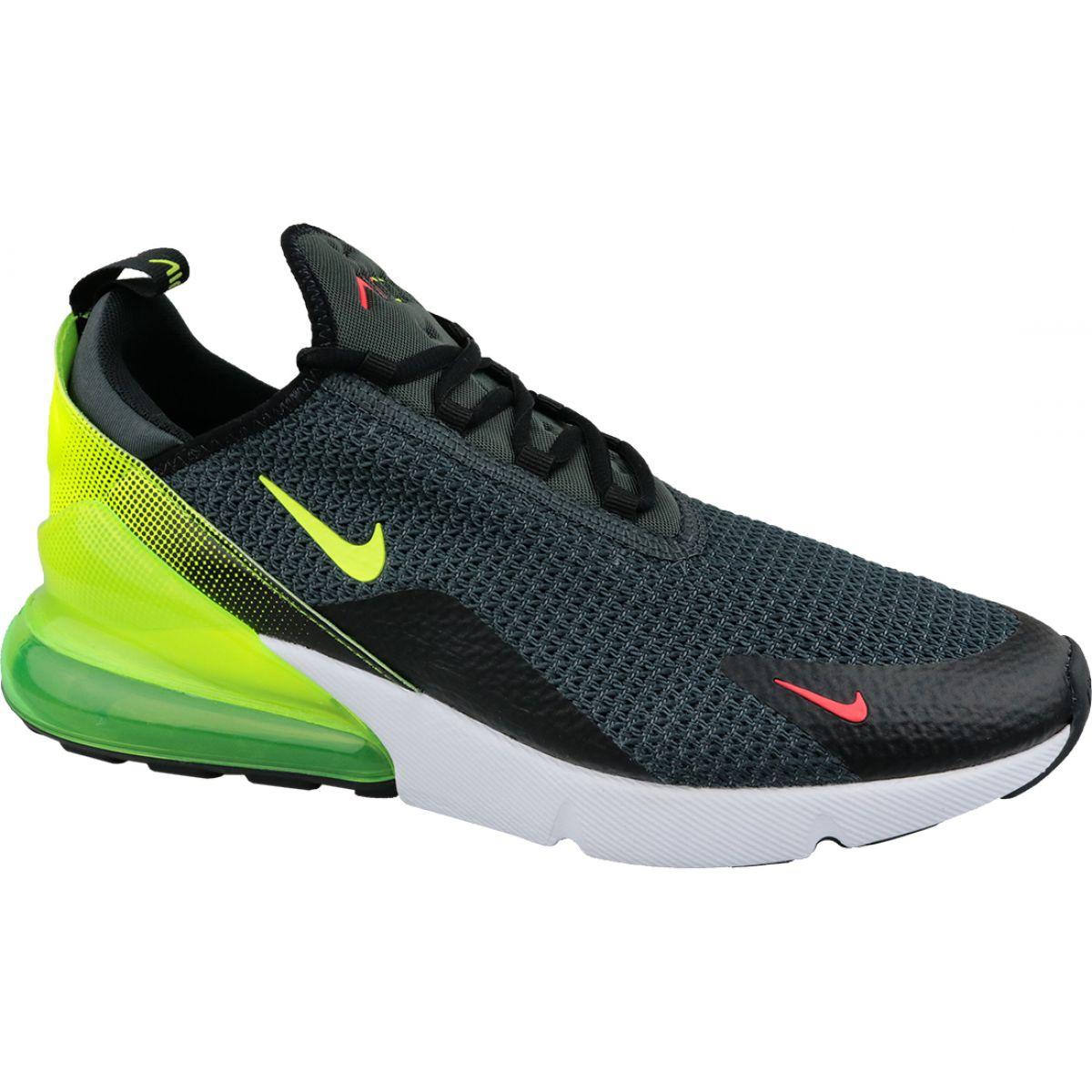 98c09e9e976110 Czarne Buty Nike Air Max 270 M AQ9164-005 - ButyModne.pl